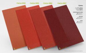 rolety wewnętrzne elektryczne materiał Carina